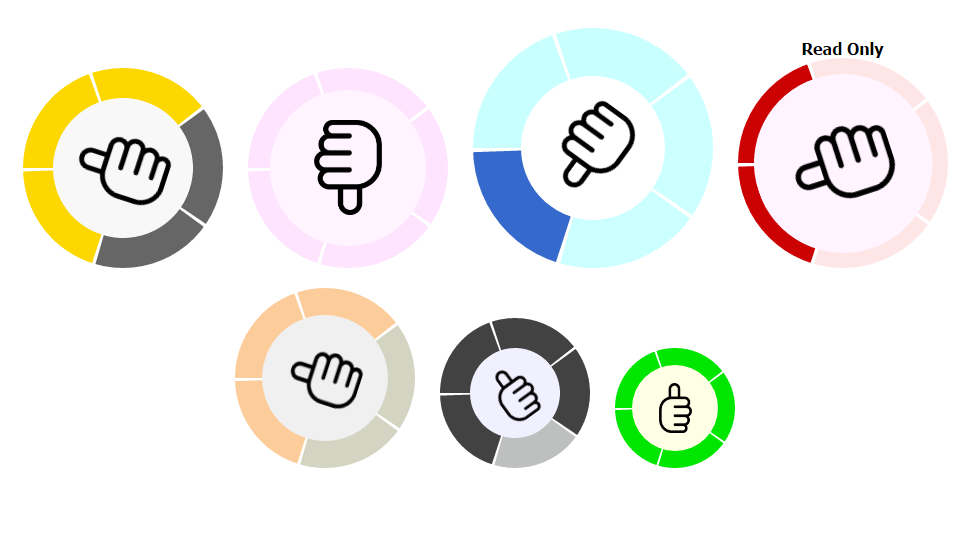 The Circular Rating - Cool & Attractive Animated Rating - 1